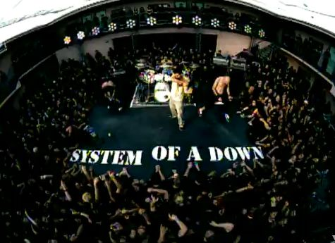 Кадры клипа System Of A Down - Chop Suey