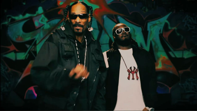 Кадры клипа Snoop Dogg - Boom feat. T-Pain