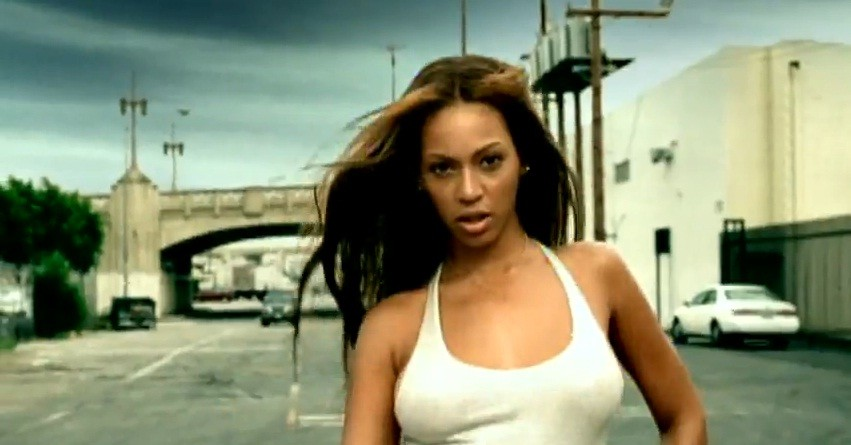 Кадры клипа Beyonce - Crazy In Love feat. Jay-Z