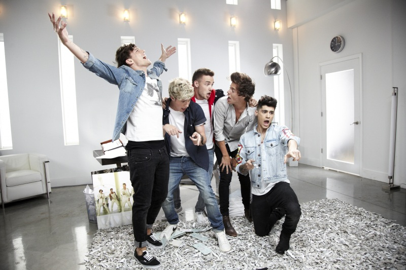 Кадры клипа One Direction - Best Song Ever