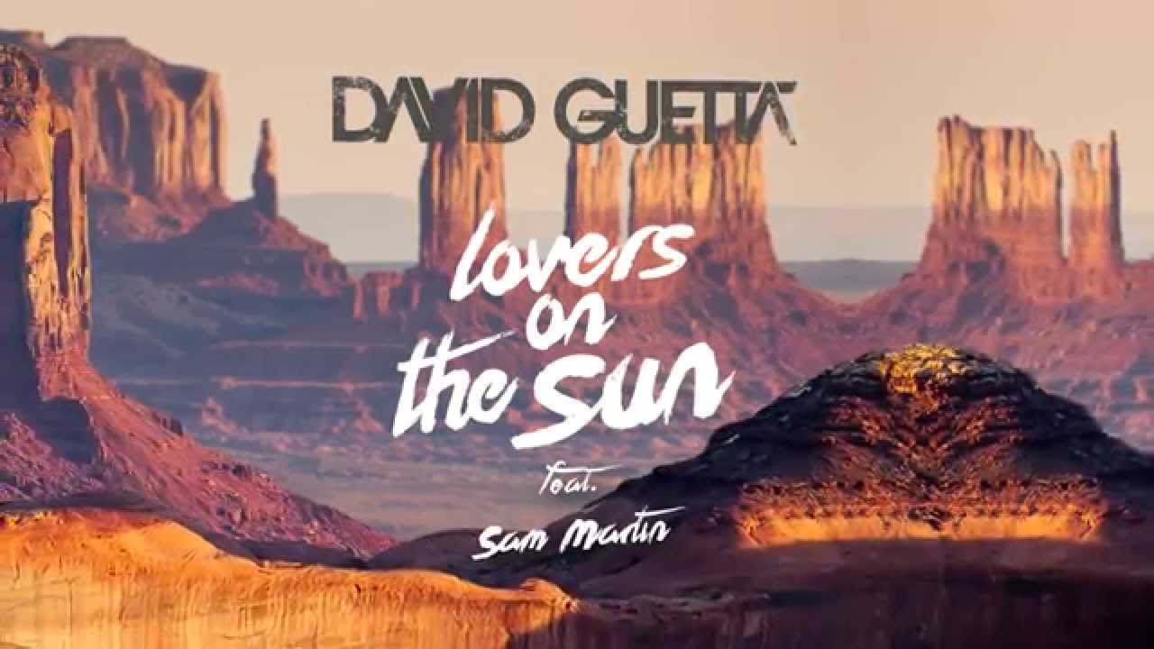 Кадры клипа David Guetta  - Lovers On The Sun