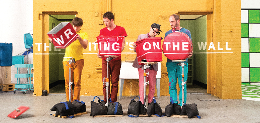 Кадры клипа OK Go  - The Writing