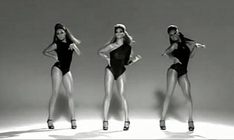 Кадры клипа Beyonce - Single Ladies