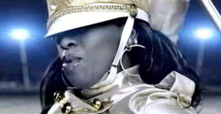 Кадры клипа Missy Elliott - We Run This